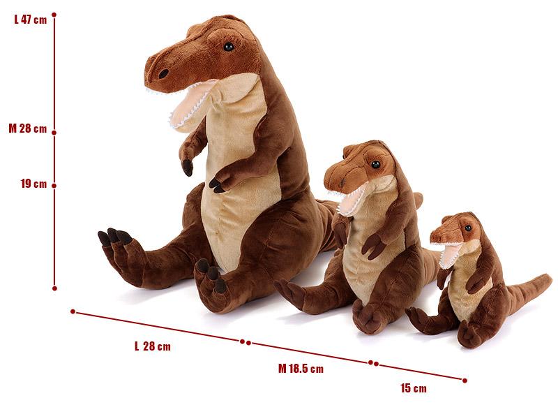 おすわりシリーズ ティラノサウルス ぬいぐるみ 3サイズ