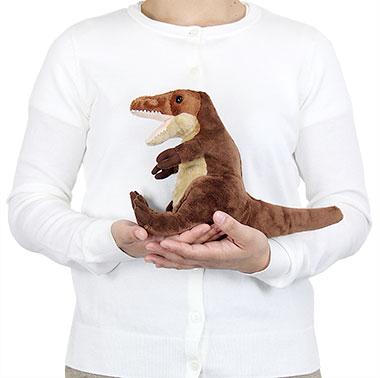 リアル恐竜ぬいぐるみ おすわりシリーズ ティラノサウルス 大きさ