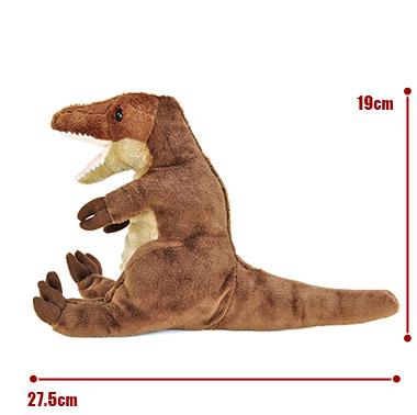 リアル恐竜ぬいぐるみ おすわりシリーズ ティラノサウルス サイズ