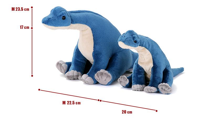 おすわりシリーズ ブラキオサウルス ぬいぐるみ 2サイズ