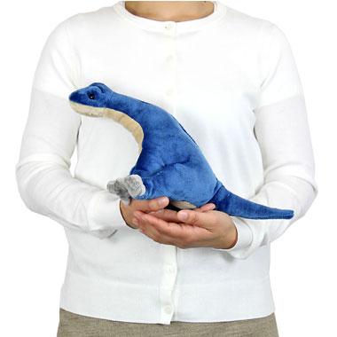 リアル恐竜ぬいぐるみ おすわりシリーズ ブラキオサウルス 大きさ