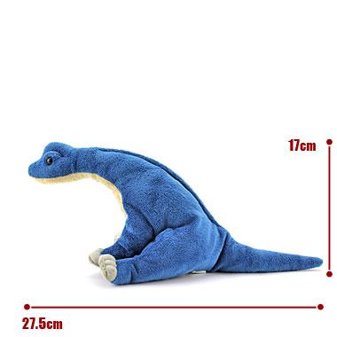 リアル恐竜ぬいぐるみ おすわりシリーズ ブラキオサウルス サイズ