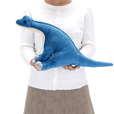 リアル恐竜ぬいぐるみ おすわりシリーズ  ブラキオサウルス M 大きさ
