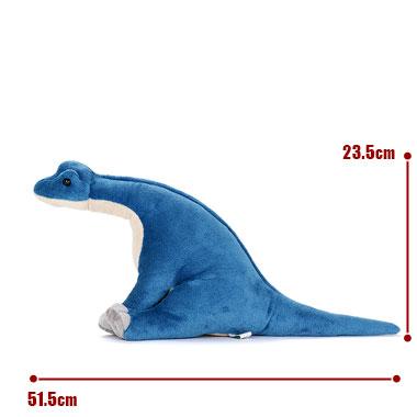 リアル恐竜ぬいぐるみ おすわりシリーズ  ブラキオサウルス M サイズ