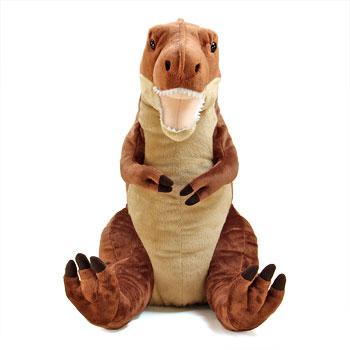 リアル恐竜ぬいぐるみ おすわりシリーズ ティラノサウルス Lサイズ