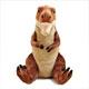 リアル恐竜ぬいぐるみ おすわりシリーズ ティラノサウルス Lサイズ 正面