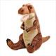 リアル恐竜ぬいぐるみ おすわりシリーズ ティラノサウルス Lサイズ 斜め