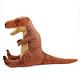 リアル恐竜ぬいぐるみ おすわりシリーズ ティラノサウルス Lサイズ 横