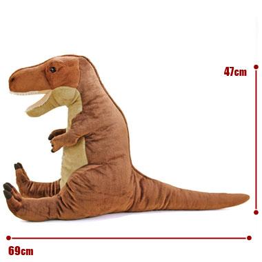リアル恐竜ぬいぐるみ おすわりシリーズ トリケラトプス サイズ