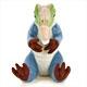 リアル恐竜ぬいぐるみ おすわりシリーズ アロサウルス 正面