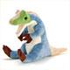 リアル恐竜ぬいぐるみ おすわりシリーズ アロサウルス 斜め