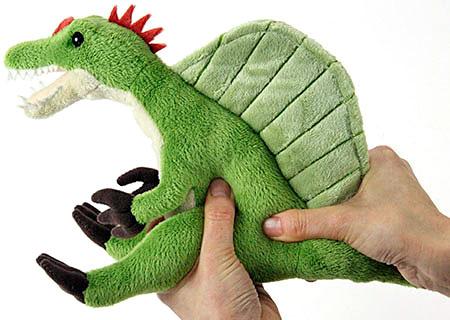 スピノサウルス ぬいぐるみ