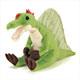 リアル恐竜ぬいぐるみ おすわりシリーズ スピノサウルス 斜め