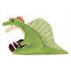 リアル恐竜ぬいぐるみ おすわりシリーズ スピノサウルス 横