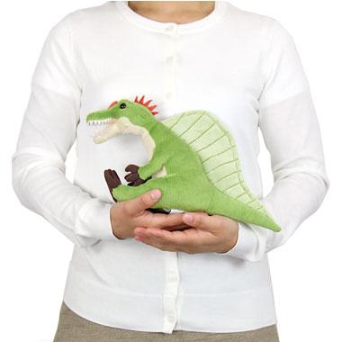 リアル恐竜ぬいぐるみ おすわりシリーズ スピノサウルス 大きさ