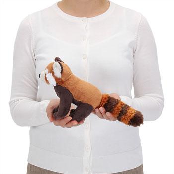 リアル動物ぬいぐるみ レッサーパンダ 大きさ