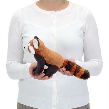 リアル動物ぬいぐるみ おすわりシリーズ レッサーパンダ 大きさ