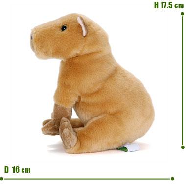 リアル 動物 生物 ぬいぐるみ おすわりシリーズ カピバラ サイズ