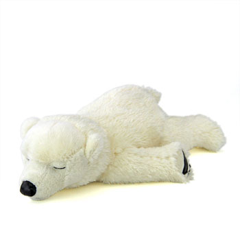 リアル動物ぬいぐるみ おやすみシリーズ ホッキョクグマ スリーピング 子熊