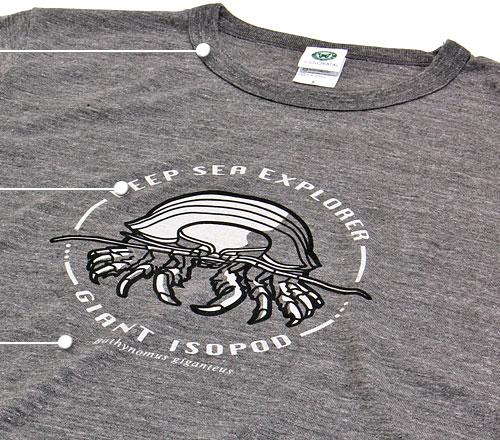 ミュージアム デザイン Tシャツ M/Lサイズ 素材