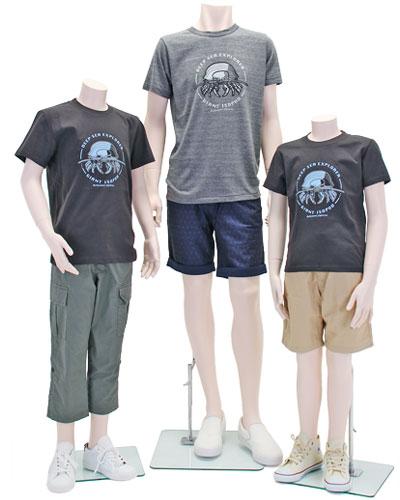 ミュージアムデザイン Tシャツ ダイオウグソクムシ 着用イメージ
