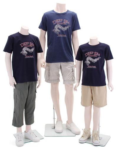 ミュージアムデザイン Tシャツ ラブカ 着用イメージ