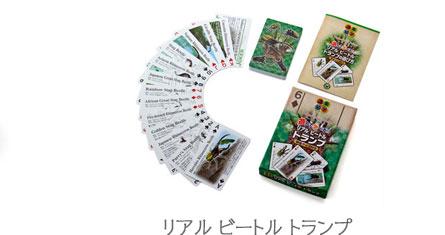 カロラータ人気のカブトムシ・クワガタムシ グッズ〜トランプ