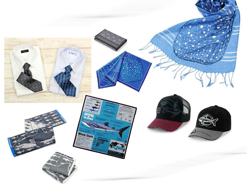 カロラータ人気のサメ グッズ〜ネクタイ、ファッション小物