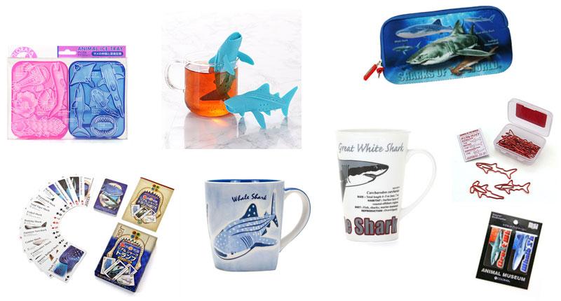 カロラータ人気のサメ グッズ〜ホームグッズ、ステーショナリー、ジグソーパズル、トランプ