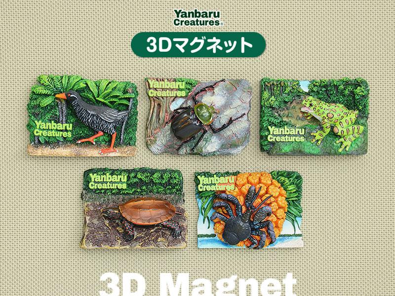 生物 動物 3Dマグネット