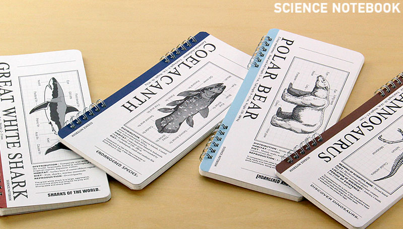 生物 動物 ステーショナリー ノート
