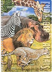 リングノート 絶滅危惧動物