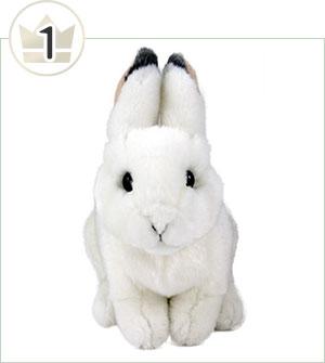 リアルアニマルベイビー  ニホンノウサギ(冬毛)