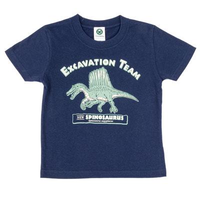 Tシャツ スピノサウルス ネイビー 110サイズ