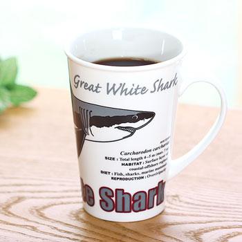 サイエンス マグカップ ホホジロザメ