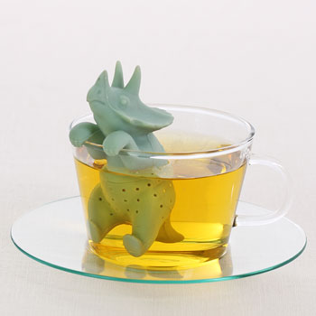アニマル 茶こし トリケラトプ