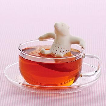 茶こし ホッキョクグマ