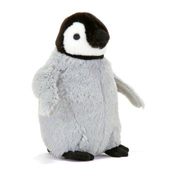 ぬいぐるみ リアルペンギンファミリー エンペラーペンギン ヒナ